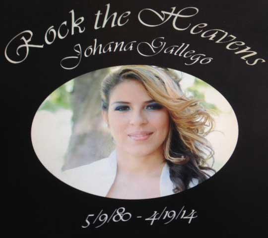 Black memorial example of digital printing