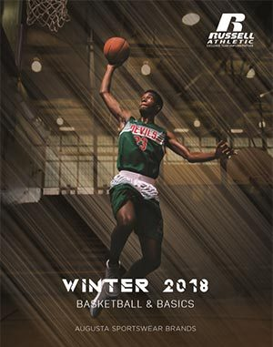 Cover of basketball uniforms catalog