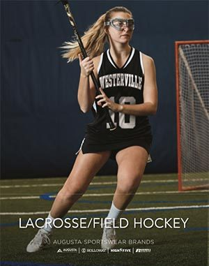 Cover of lacrosse uniforms catalog