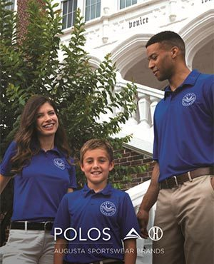Cover of polo shirts catalog