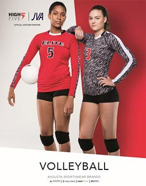 Cover of volleyball uniforms catalog