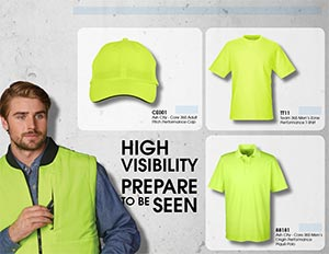 Cover of Workwear High visibility uniforms catalog