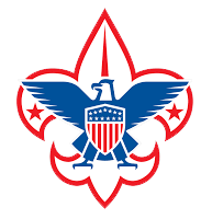Boy Scouts logo with blue eagle