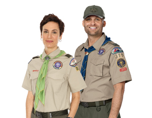 Boy Scout uniforms for Leaders
