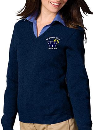 Oliver Wolcott Tech school uniform sweater