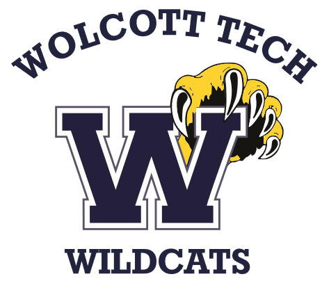 Oliver Wolcott Tech Wildcats logo for school uniforms